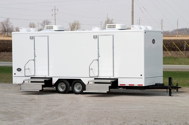 Bathroom Trailer Rental Cost Imperial Porta Potty Rentals Restroom Trailers For Large Events